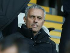 Mourinho abroncó a Romero y Rojo antes del encuentro ante el Chelsea. AFP