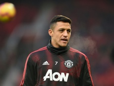 Sanchez has not found form at United. AFP