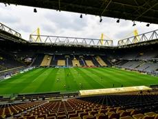 La Bundesliga volverá a jugarse a puerta cerrada en noviembre. AFP