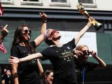 El fútbol femenino está en auge. AFP/Archivo