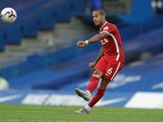 Thiago no jugará contra el Ajax. AFP