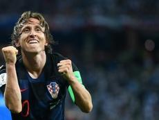 Modric veut jouer à l'Inter. AFP