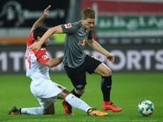 Klostermann está en la agenda del Bayern. AFP