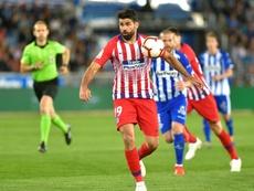 Diego Costa pode trocar o Atlético pelo Wolverhampton. AFP