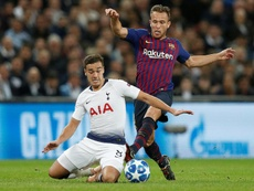 Arthur has impressed a barcelona legend. AFP