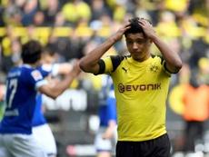 Jadon Sancho pode acabar não saindo do Borussia. AFP