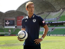 Keisuke Honda was absent for the game. AFP