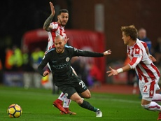 City triumphed over Stoke on Monday. AFP