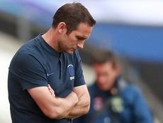 Lampard lamentó la derrota en Múnich. AFP