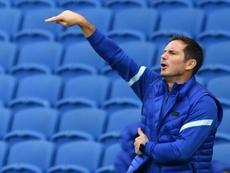 Lampard sigue peinando el mercado en busca de más jóvenes talentos. AFP/Archivo