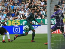 Newcastle narrowly lost out to Tottenham. AFP
