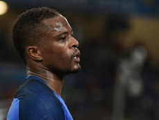 Evra recommence. AFP