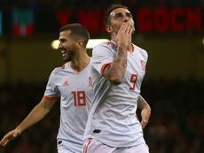 Gayà, Albiol y Alcácer se formaron en las categorías inferiores del conjunto 'che'. AFP