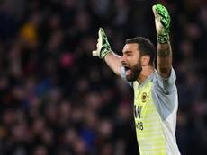 El Arsenal cayó ante el Wolverhampton de Nuno. AFP
