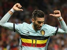 Carrasco está deseando regresar al fútbol europeo. AFP