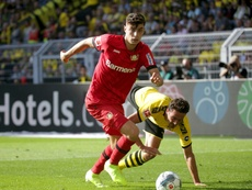 Kai Havertz is closer and closer to joining Chelsea. AFP/Archivo