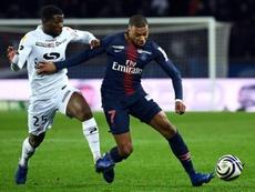 Mbappé fez teve uma atuação horrível. AFP