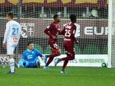 Les compos probables du match de Ligue 1 entre Metz et Strasbourg. AFP