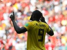 Lukaku ensalzó la figura de Henry. AFP