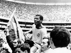 'Goal Brasil' concorre no Cinefoot com curta 50 anos do Tri. AFP