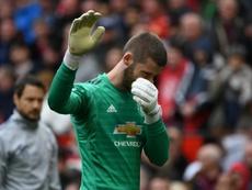 Manchester United quer renovar com De Gea a todo custo. AFP