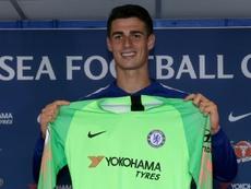 Kepa a quitté le club après avoir prolongé il y a quelques mois avec Bilbao. AFP