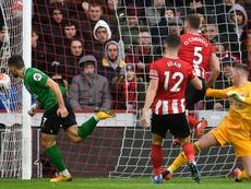 El Sheffield United estará muy atento a sus jugadores en este parón. AFP
