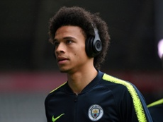 Leroy Sane about to join Bayern. AFP/Archivo