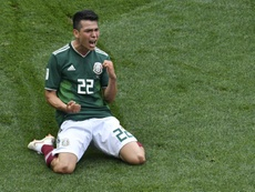 Lozano was never really a taget for Barca. AFP