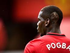 Pogba mostró su peinado más antirracista. AFP