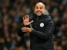 Guardiola justificó a Bielsa. AFP