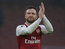 Mustafi could be looking for a move away from Arsenal. AFP