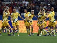Australia pagará igual a la selección masculina y femenina. AFP