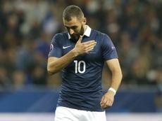 Benzema no volverá a Francia con Deschamps. AFP