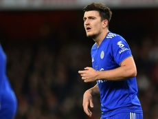 Maguire is set to become City's first summer signing. AFP