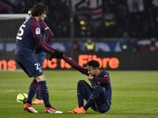 Rabiot quiere dejar el PSG, el Barça estaría atento... pero en el club galo no le dejan marchar. AFP