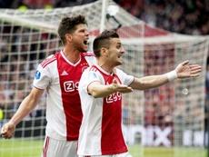 El Ajax se medirá al PAOK. AFP