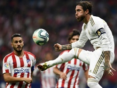 La Liga have complained about abuse towards Ramos in the Madrid derby. AFP