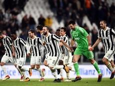 Juventusdefronta as estrelas da MLS. AFP