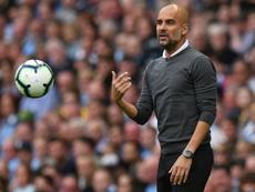 Guardiola quiere retener a Sané. AFP