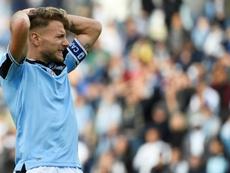 La carambola a tres bandas que podría dejar a la Lazio sin Champions League. AFP