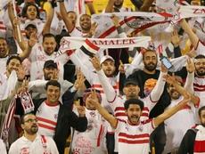 El Zamalek no terminará el campeonato egipcio. AFP/Archivo
