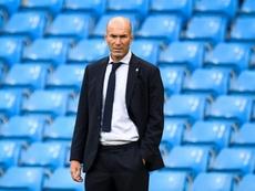Zidane prend la défense de Varane. AFP