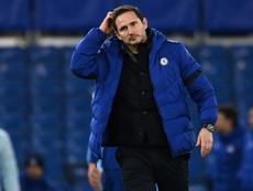Lampard accepte la pression autour des résultats. afp
