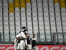 Juventus anuncia uma economia de 90 milhões com reduções salariais. AFP