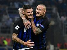 L'Inter vince la prima in Champions. AFP