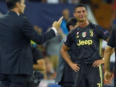 Cristiano no está teniendo suerte en sus últimas visitas. AFP