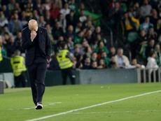 Le casse-tête de Zidane. AFP
