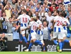 El Brighton ya suma ocho puntos. AFP