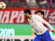 Fellaini marcó el gol del triunfo de penalti tras fallar uno antes Pellé. Capturas/SoccerLiveTV